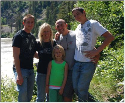 Craig Garber & family